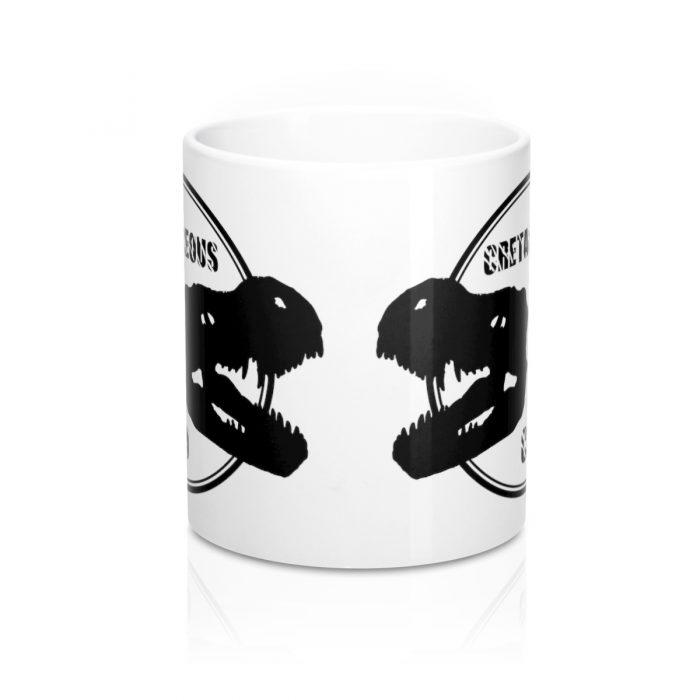 Dinosaur Mug T-rex skull Cretaceous Co