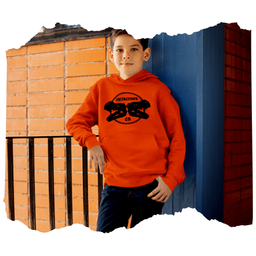 Dinosaur kids hoodies